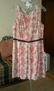 Patterned dress from LOFT Outlet